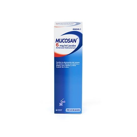 Mucosan 30 Mg. Jarabe 250 Ml.