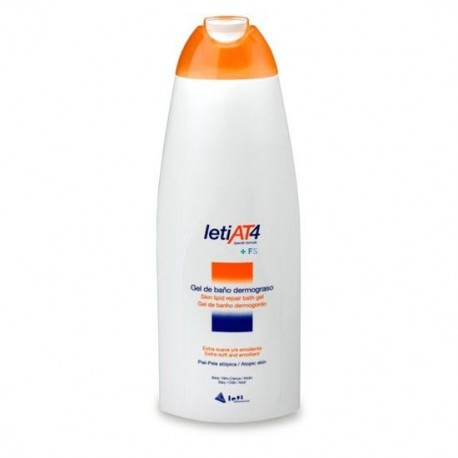 Leti At-4 Gel De Baño Dermograso 200 Ml