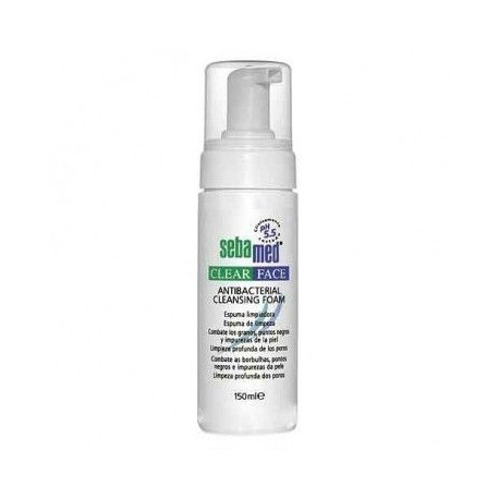 Sebamed Clear Face Espuma Limpiadora Antibacteriana 150ml