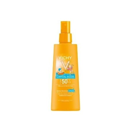 Vichy Capital Soleil Spray Infantil Spf 50 De 125 Ml