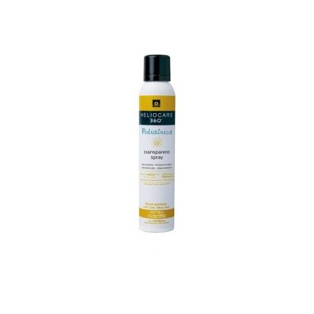 Heliocare 360º Pediatrics Transparent Spray Spf50+ 200 Ml