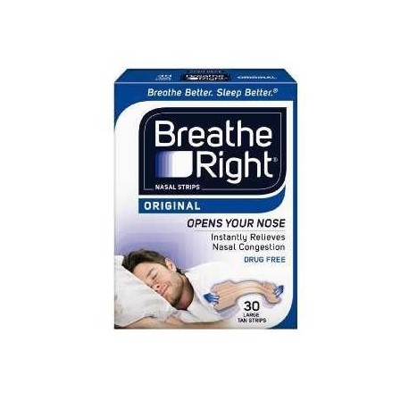 Breathe Right Tira Nasal Peque/mediana 30 Uds