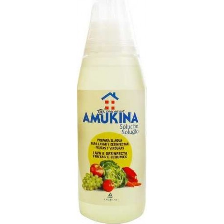 Amukina Desinfeccion Frutas Verduras 500 Ml