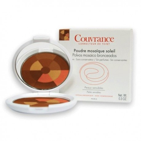 Avene Couvrance Maquillaje Polvos Mosaico Bronceados