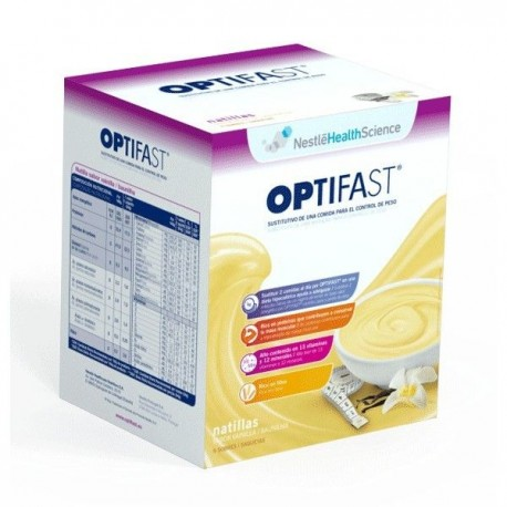 Optifast Natillas De Vainilla
