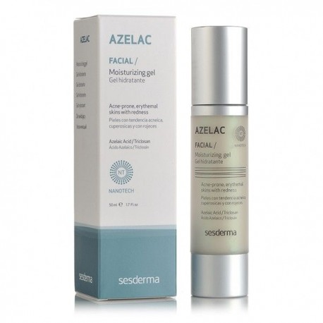 Azelac Gel Hidratante 50 Ml.