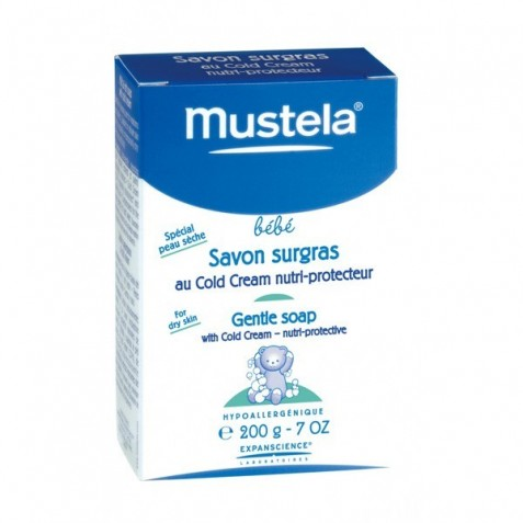Mustela Jabon Supergraso Al Cold Cream 200 G.