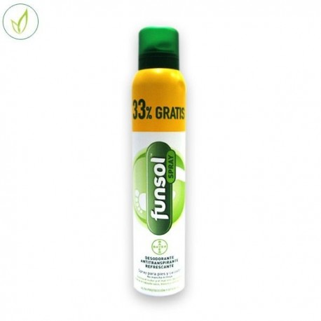 Funsol Desodorante Pies Spray 150 Ml