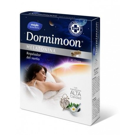 Mayla Pharma Dormimoon Melatonina 30 comp.