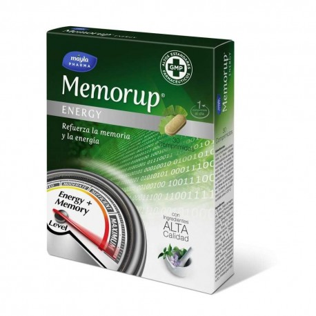 Memorup Energy 30 comp Mayla Pharma
