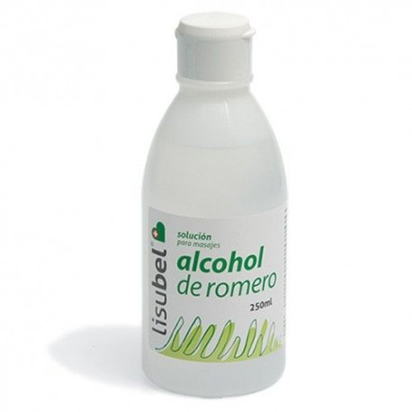 Alcohol De Romero Lisubel 250 ml