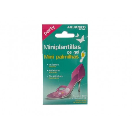 Aquamed Miniplantillas Gel 2 uds
