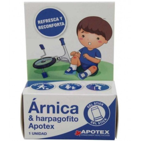Apotex Stick De Arnica 15 ml