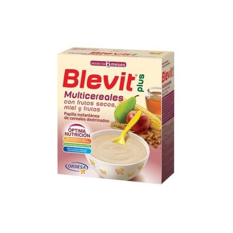 Blevit Plus Multicereales con frutos secos 600 gr