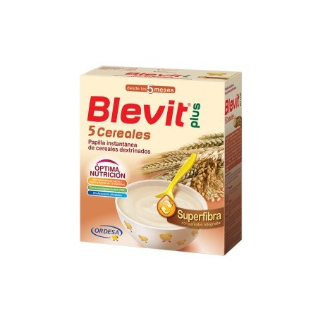 Blevit Plus Superfibra 5 Cereales 600 gr