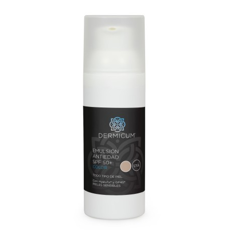 Dermicum Emulsión Antiedad SPF50 Color 50 ML