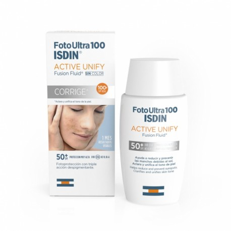 Fotoultra Isdin 100 Active Unify 50 Ml