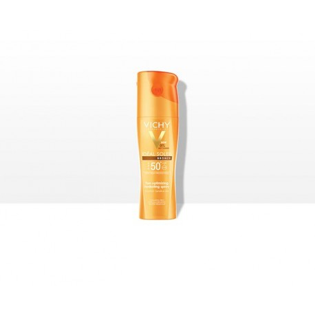 Vichy Ideal Optimiza Bronce 50+Spray 200