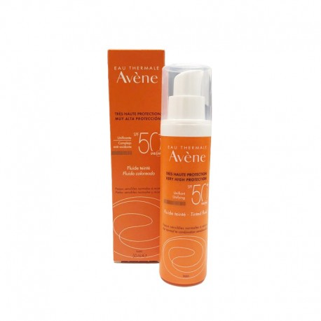 Avene Emulsion Color SPF50+ Sin perfume 50 ml