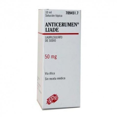 Anticerumen Liade Gotas 10 Ml 50 Mg/ml