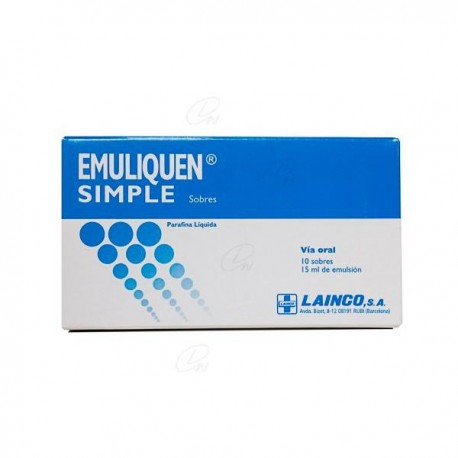Emuliquen Simple 15 Ml 10 Sobr