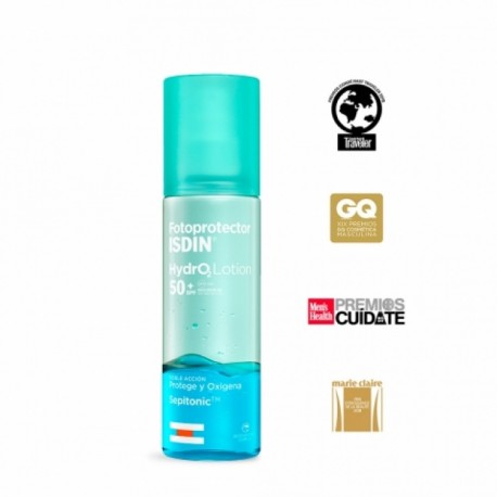 FOTOPROTECTOR ISDIN HYDRO 2 LOTION SPF 50+ 200 ML
