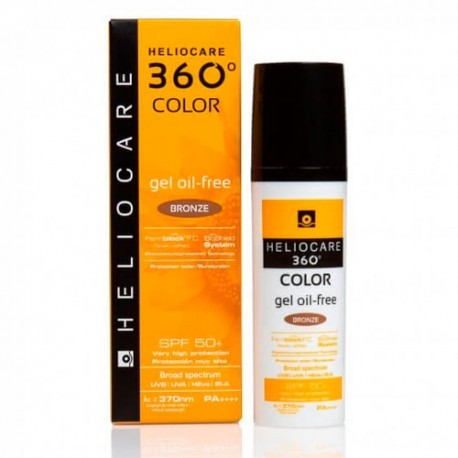 HELIOCARE 360º SPF 50+ COLOR GEL OIL-FREE PROTEC BRONZE 50 ML