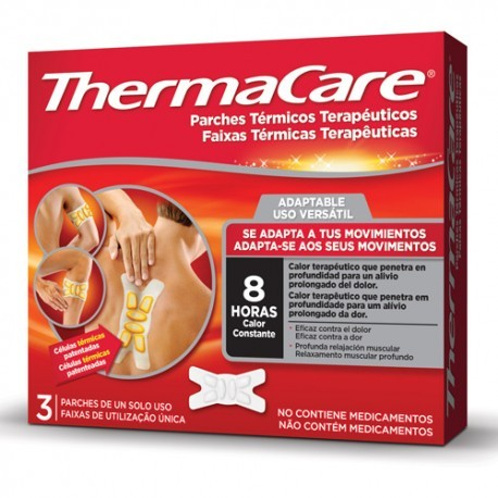 Thermacare Adaptable 3 Parches Term.