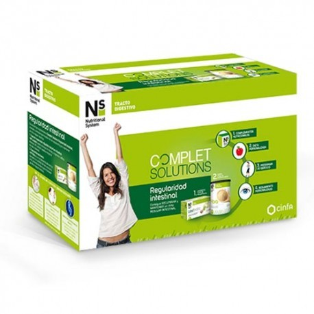 NS COMPLET SOLUTIONS REGULARIDAD INTESTINAL 12 SOBRES + 250 G