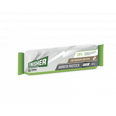 FINISHER BARRITAS PROTEICAS CHOCOLATE CON LECHE 20 BARRITAS