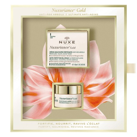 Nuxe Cofre Nuxuariance Gold Crema-Aceite