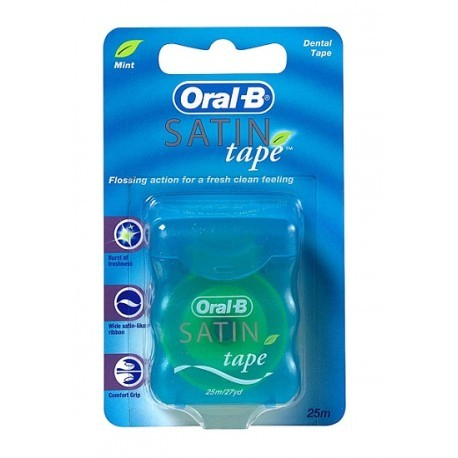 Oral-B Cinta Satin Tape Menta
