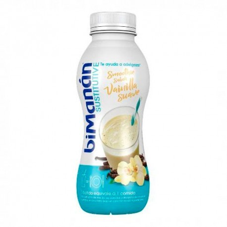 BIMANAN SUSTITUTIVE SMOOTHIE VAINILLA SUAVE 330 ML