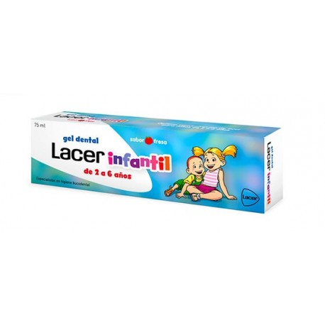LACER INFANTIL GEL DENTAL 75 ML FRESA