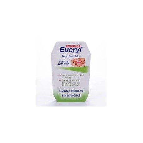Eucryl Antiplaca Polvo Dental 50 Gr.