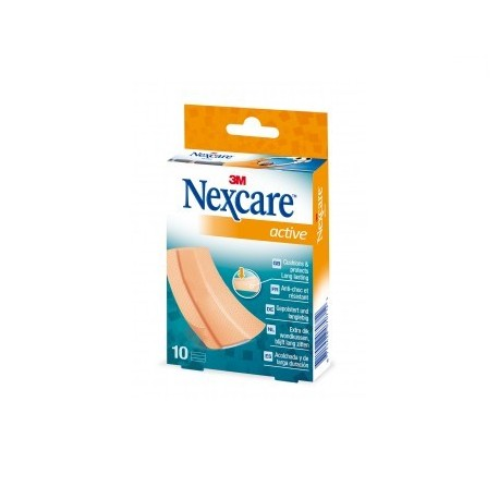 Nexcare Active Strip S 5 Tiras 10X6 Cm.