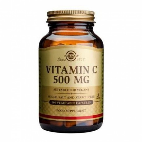 SOLGAR VITAMINA C 500 MG 100 CAPS VEGETALES