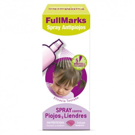 Fullmarks Spray Antipiojos 150 Ml.