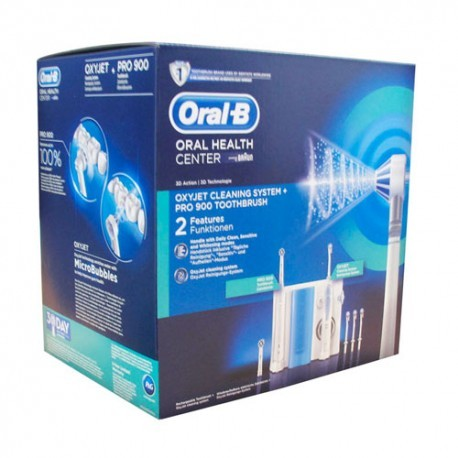 OXYJET IRRIGADOR BUCAL ELECTRICO ORAL B PROFESSI