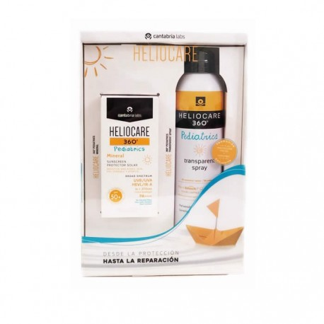 HELIOCARE DUPLO 360º SPF 50 PED LOTION 200 ML + MINERAL PED SPF50 50 ML