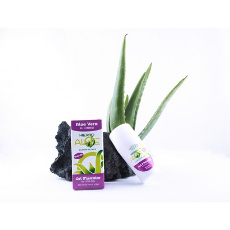 HIERRO ALOE  GEL MUSCULAR ROLL-ON 75 ML