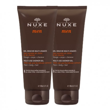 NUXE MEN DUPLO GEL DUCHA 2*200ML