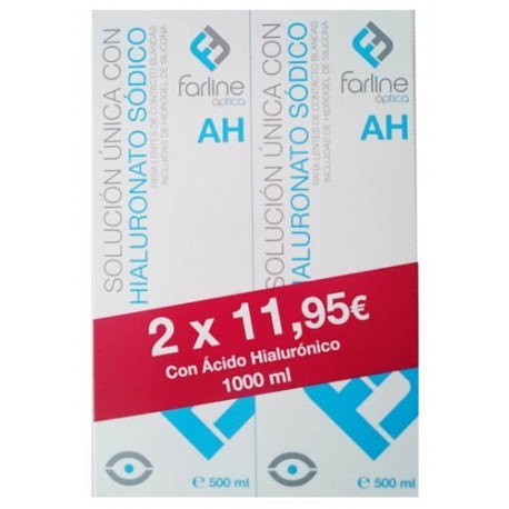 FARLINE OPTICA SOLUCION UNICA CON HIALURONICO DU