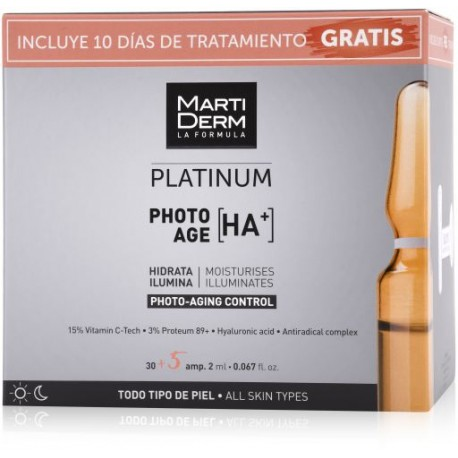 MARTIDERM PACK PHOTO AGE HA 30+5AMP