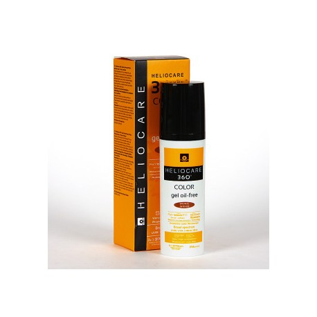 HELIOCARE 360º SPF 50+ COLOR GEL OIL-FREE PROTEC BRONZE INTENSE 50 ML
