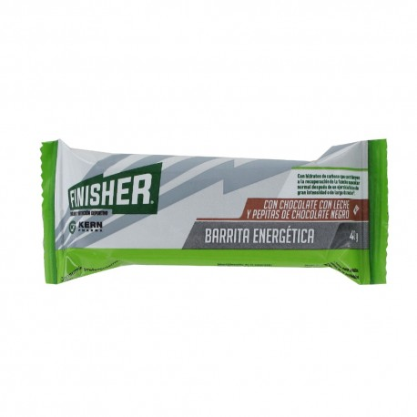 FINISHER BARRITAS ENERGETICAS CHOCOLATE CON LECH