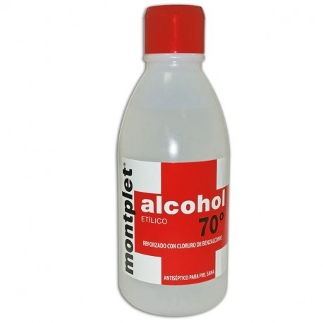 MONPLET ALCOHOL 70º 250 ML