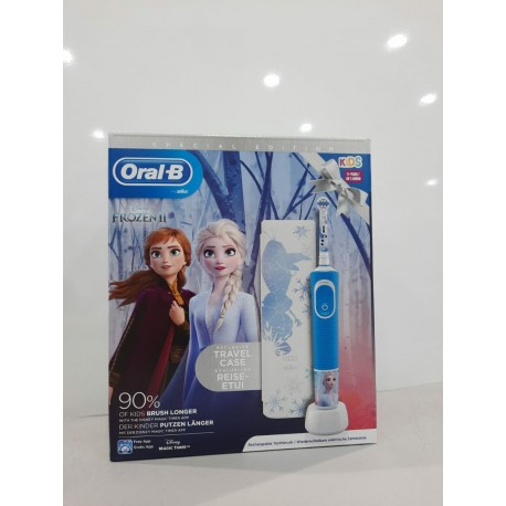 CEPILLO DENTAL ELECTRICO INFANTIL ORAL-B STAGES +3AÑOS SUAVE